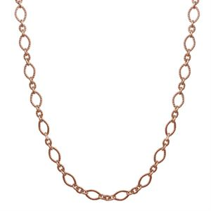 Picture of Alternating Textured Link Rose Gold